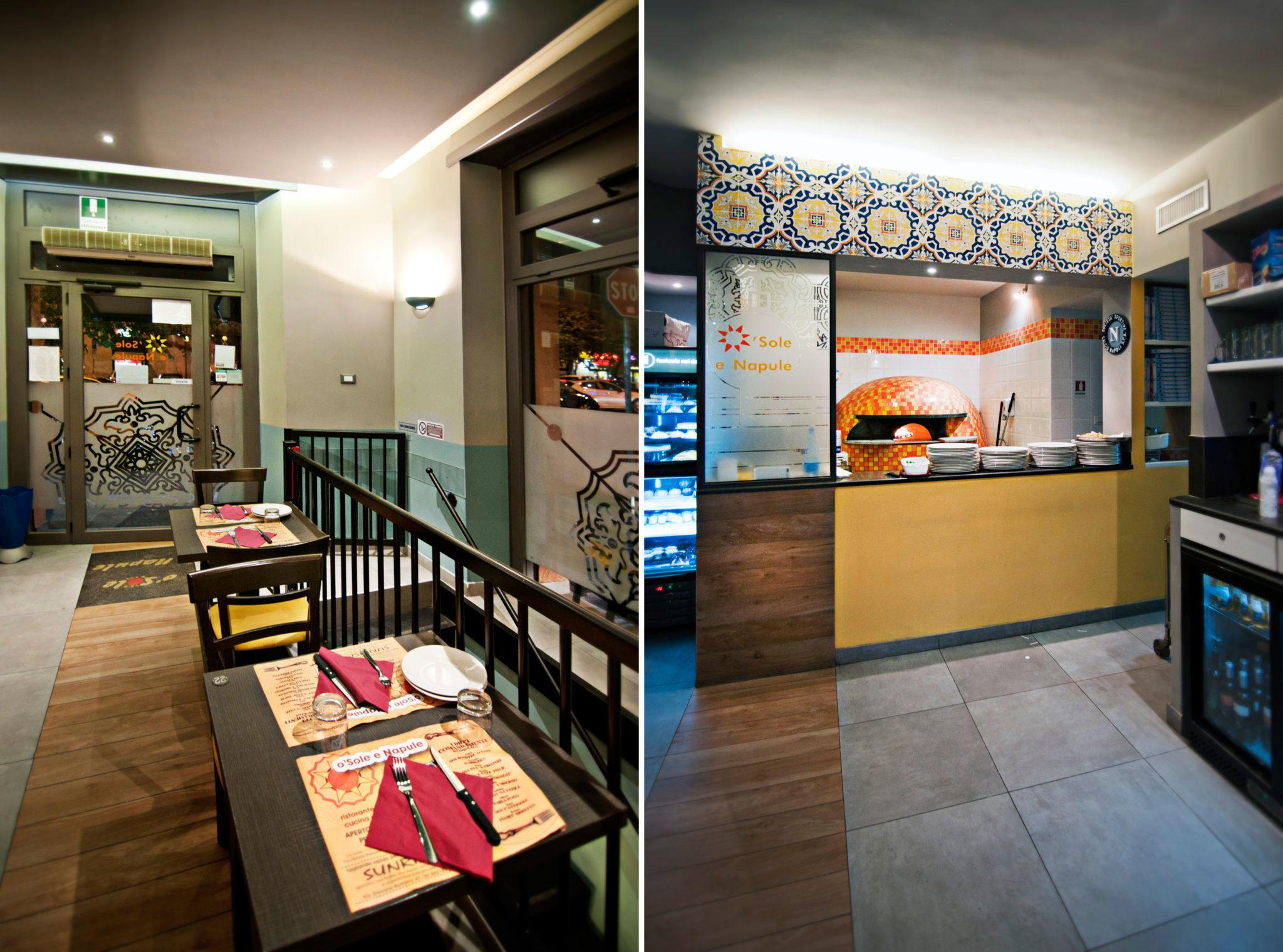 pizza restaurant in Rome
