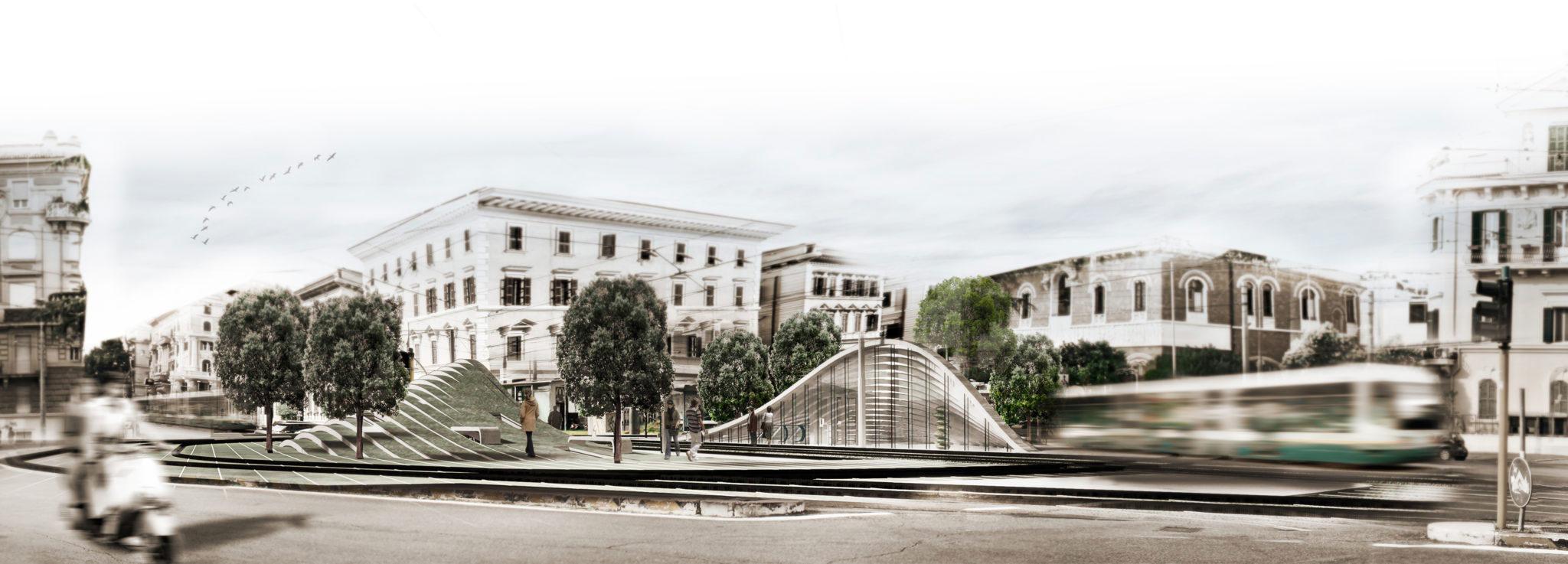 Concrete Poetry Hall Rome